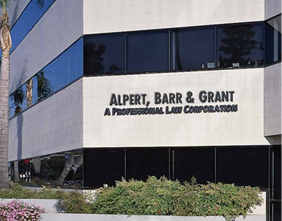 About Us - Alpert, Barr and Grant Building Photo Taken From Outside